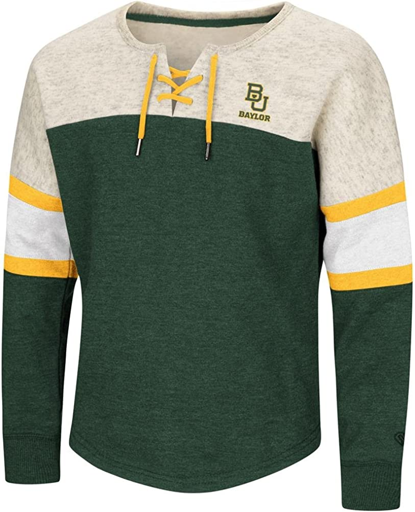 Colosseum Baylor University Recommended Bears Oversized Sale item Girls Pul Sweatshirt