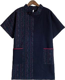 久留米ちぢみ織シンメトリーブラウス