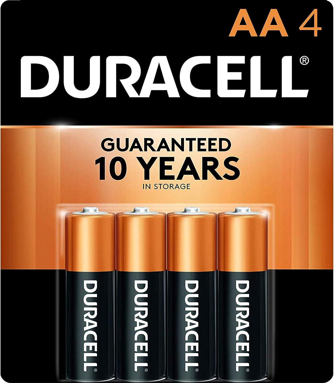 Amazon Com Duracell Procter Gamble Durmn1500b4z Alkaline General Purpose Battery Black 12152 4 Count Electronics
