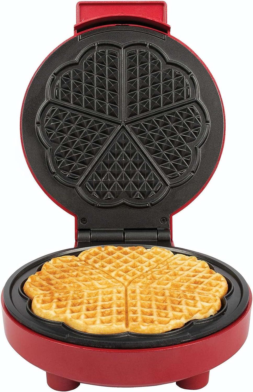 Kalorik Las Vegas Mall Heart-Shaped Waffle Red Maker online shopping