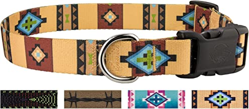 Country Brook Design - Deluxe Dog Collar - Country and Western Collection