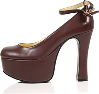 [JOYBANK] パンプス 12cmヒール 厚底 プラットフォーム コスプレ レディース 靴