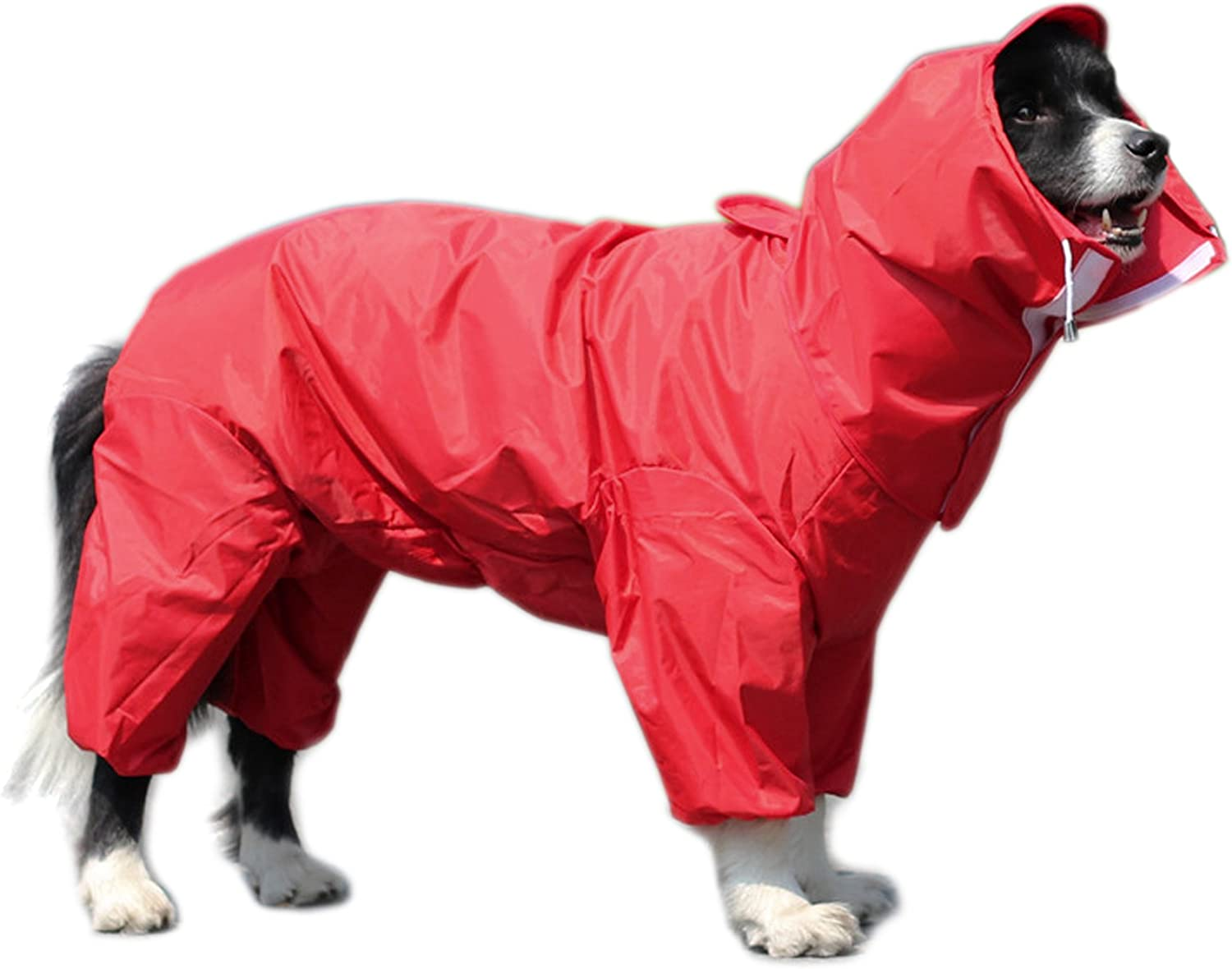 Alfie Pet  Bella Rainy Days Waterproof Raincoat (for Dogs and Cats)  color  Red, Size  XXL