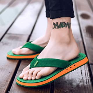 Men's and Women's Non-Slip Sandals and Slippers, Flip-Flops, Breathable Platform Sandals and Slippers, Flip-Flop Toe Sandals