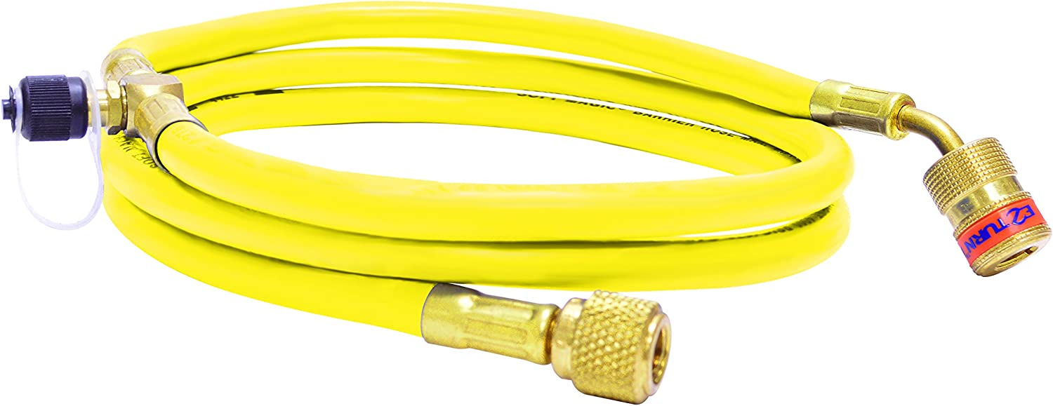 Uniweld EZT6Y EZ Turn Regular store 6' Anti-Blowback Acces with OFFicial site Hose Yellow