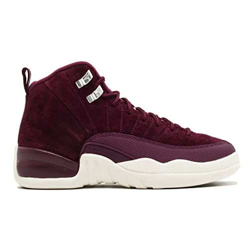 04b58826c1c Jordan Nike Air 12 Retro Bordeaux G.S Youth Big Kids Bordeaux/Metallic  Silver/Sail