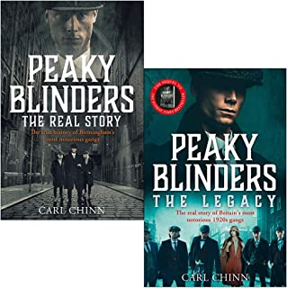 Peaky Blinders The Real Story & The Legacy By Carl Chinn 2 Books Collection Set