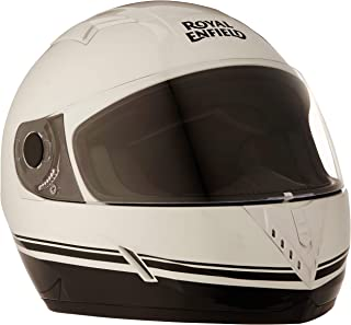 Royal Enfield Gloss White Full Face Helmet Size (S)56 CM (RRGHEA000092)