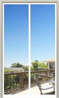 MAGZO Magnet Screen Door 32 x 80, Magnetic Mesh with Heavy Duty for Entry Door Fits Door Size up to 32