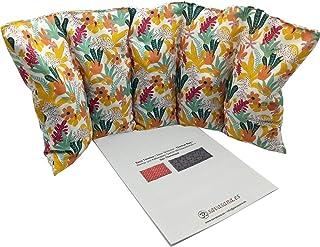 """Cuscino termico """"KAWAI"""" - 50 x 20 cm (XL) - pieno di noccioli di ciliegia 800gr - effetto freddo/caldo . saco termiche"""