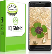 IQShield Screen Protector Compatible with Google Pixel 2 (2-Pack)(Case Friendly)(Easy Install) Anti-Bubble Clear Film