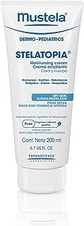 Mustela Stelatopia Emollient Cream, Baby Cream, for Eczema-Prone Skin, with Natural Avocado Perseose.
