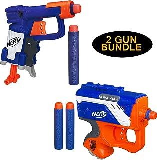 Nerf N-Strike Jolt Blaster & Nerf N-Strike Reflex IX-1 Blaster 2 Gun Bundle