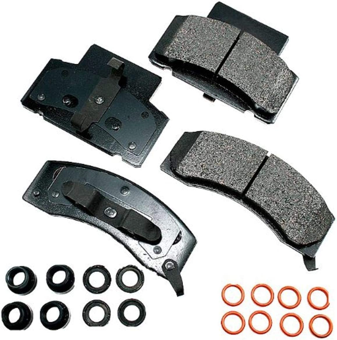 Akebono-ACT459 Ultra Premium Front Pads Brake Brand Cheap Sale Venue 70% OFF Outlet GREY