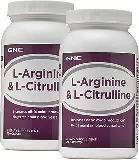 GNC L-Arginine L-Citrulline - Twin Pack
