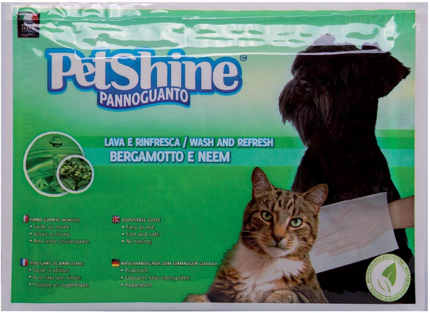 PETSHINE Paño desinfectante 28 Piezas para Perros, Gatos y Mascotas, 1 paño de Limpieza con Fragancia de bergamota, toallita húmeda sin Alcohol y parabeno, Limpiador y refrescante: Amazon.es: Productos para mascotas
