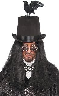 Costume Co. Men's Raven Top Hat Costume Accessory