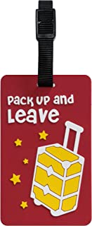 TangoTag Pack Up And Leave Luggage Tag, HTC-TT832