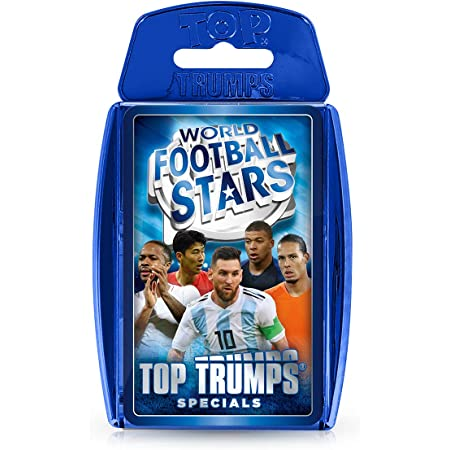 World Football Stars Top Trumps Specials Card Game