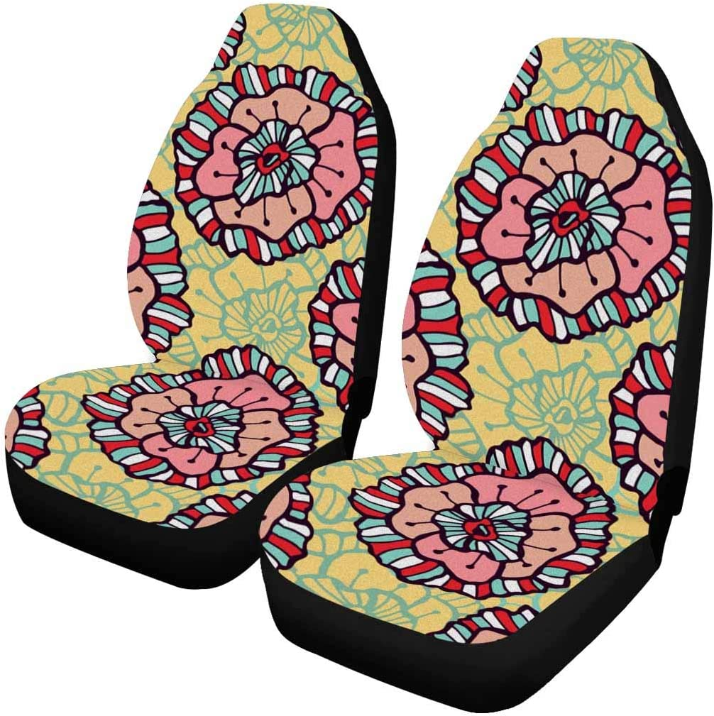 InterestPrint outlet Protective Front Seat Covers Univers for High quality Cars Auto