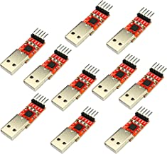 Partstower 10pcs KY-040 Rotary Encoder Module For Arduino KY040 Brick Sensor Development New