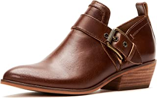 Frye and Co. Women's Rubie Moto Slip on Ankle Boot