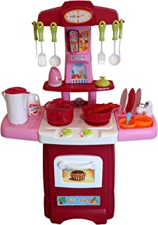 Pretend Play Kitchen for Toddlers, Toys for Girls 3-Year Old+ | 24 Cooking