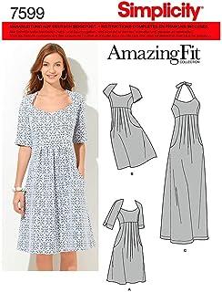 ee58462d55ac8 Amazon.fr : patron robe : Vêtements