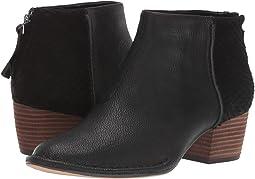 Black Combi Leather