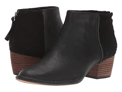 Clarks Spiced Ruby (Black Combi Leather) Women