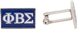 Phi Beta Sigma Fraternity Letter Cufflinks Greek Formal Wear