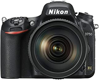 Nikon FX-format D750 - 24.3 MP, SLR Camera 24-120mm Lens, Black