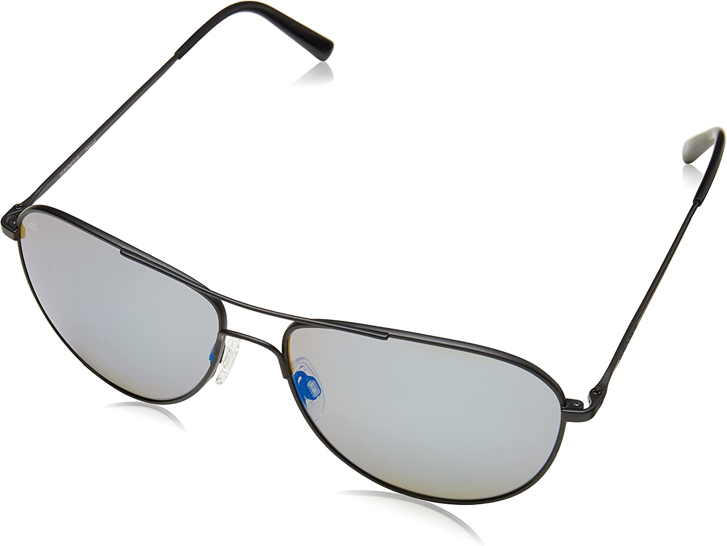 SERENGETI ALGHERO SUNGLASSES (SATIN BLACK FRAME POLARIZED 555NM blueeE LENS)