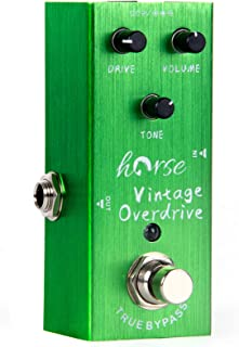 Vintage Overdrive Electric Guitar Effects Pedal Mini...