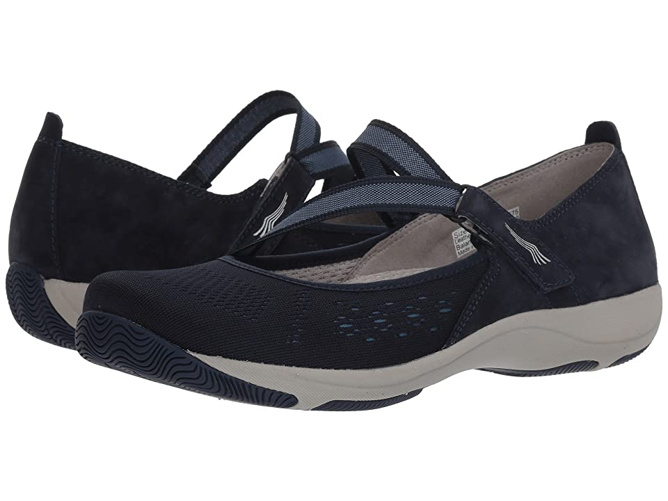 Dansko Haven (Navy Suede) Women