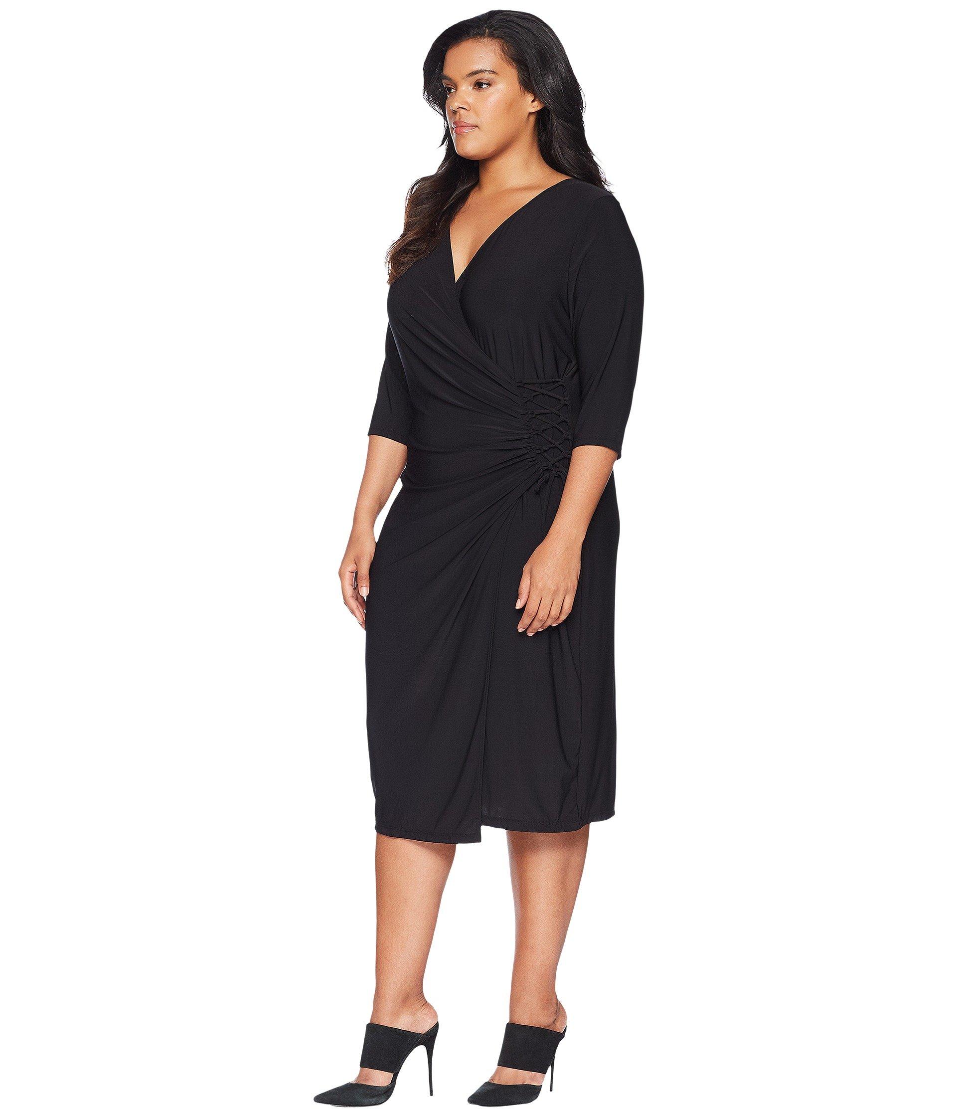 Black Vixen Noir Cocktail Kiyonna Dress xwfxA