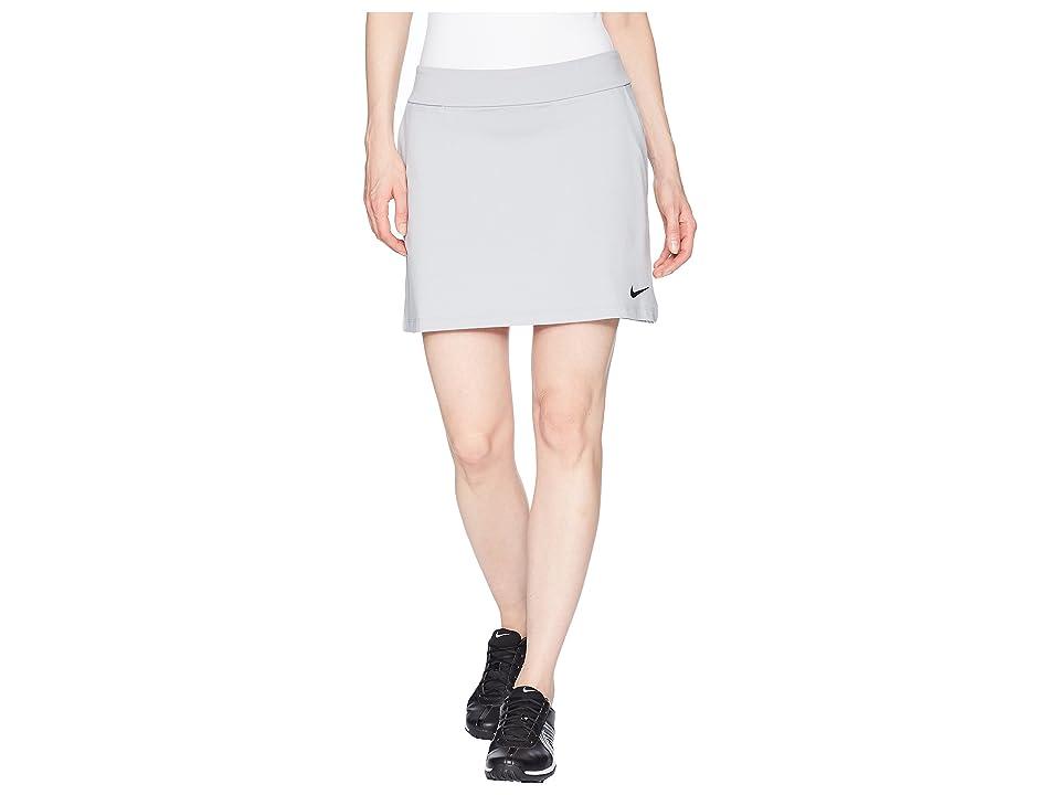 Nike Golf Dry Skort Knit 16.5 (Wolf Grey/Black) Women