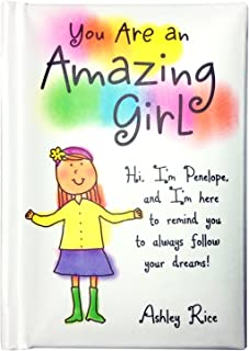 "Blue Mountain Arts Little Keepsake Book""You Are an Amazing Girl"" 4 x 3 in. Perfect Pocket-Sized Birthday, Christmas, ""Just Because"" Gift Book for a Tween Girl to Boost Self-Confidence, by Ashley Rice"