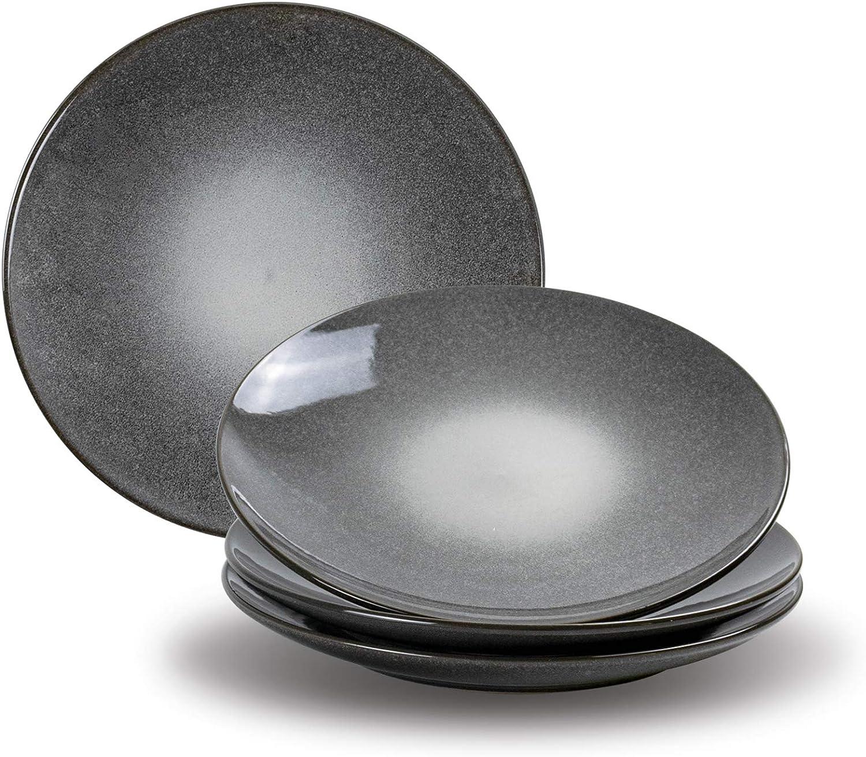 Dinner Plates Set Super beauty product restock quality top Bargain sale of 4 UNICASA Inch Ceramic Dinnerware 10.25 M