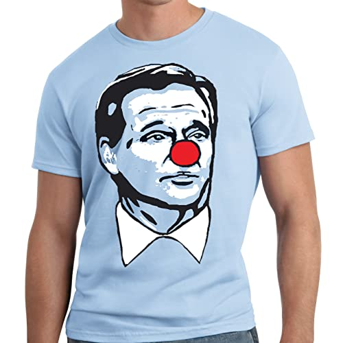 16f8d5ff5 LiberTEES Big and Tall Roger Goodell Clown Shirt Matt Patricia Patriots T- Shirt