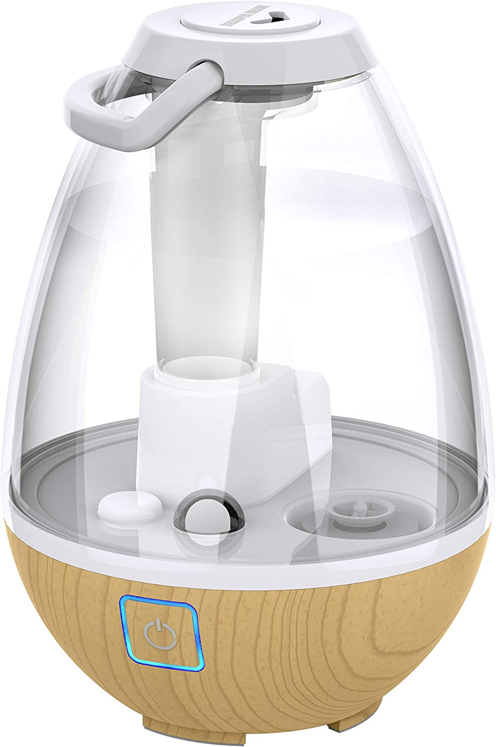 Sharper Image UHT1-SI Ultrasonic Cool Lowest price challenge Gallo Max 68% OFF 0.4 Humidifier Mist