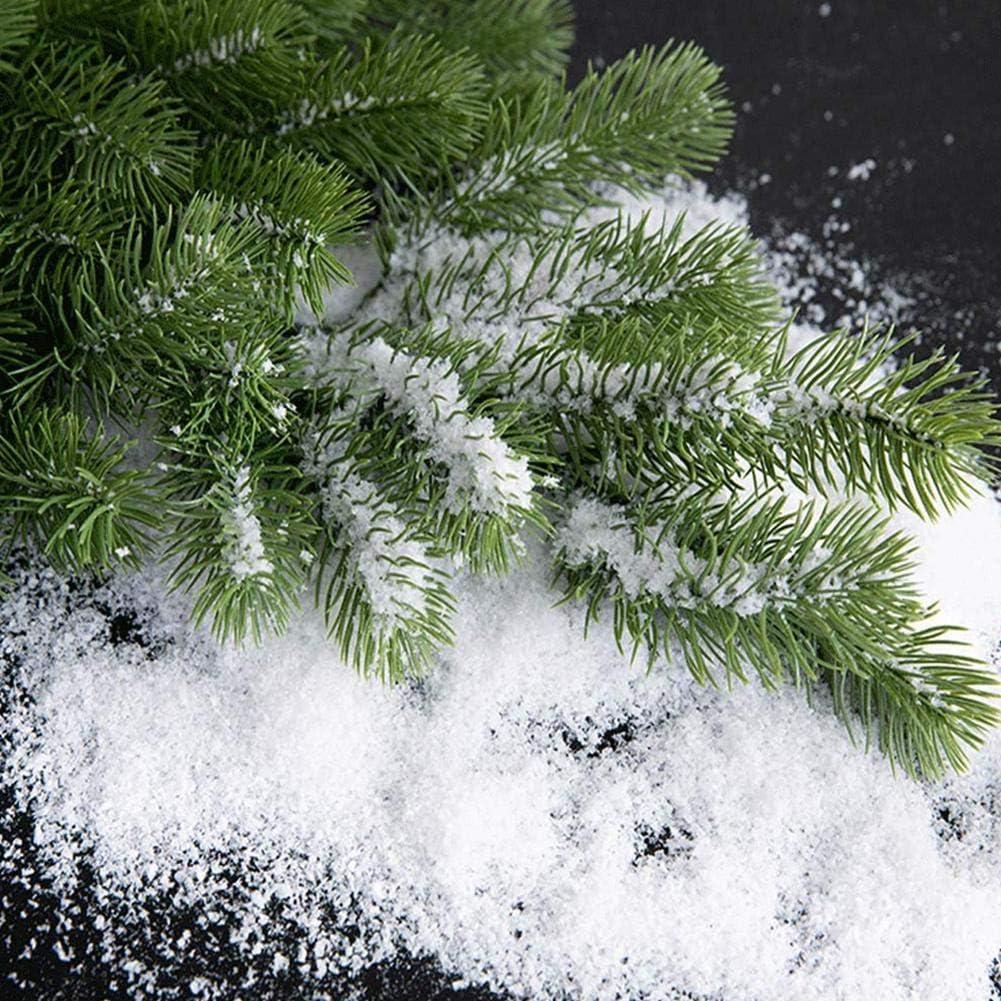 Polvo de nieve instant/áneo 30//50//100//200 g ideal para la fabricaci/ón de nubes /árbol de Navidad decoraci/ón de actividades cient/íficas de invierno polvo de nieve artificial