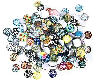 Surtido de mosaicos y azulejos de vidrio Rosenice de 12&