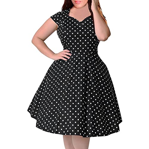 Plus Size 50s Dresses: Amazon.com