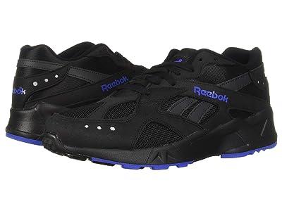 Reebok Lifestyle Aztrek (Black/White/Crushed Cobalt/Blue Hills) Athletic Shoes