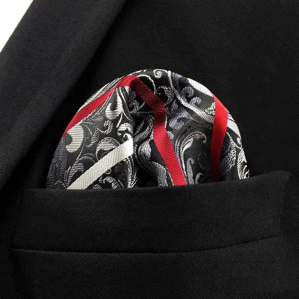 XQWLP Business Multicolor Sale item Pocket Square Jacksonville Mall Gift H Classic Suit Mens