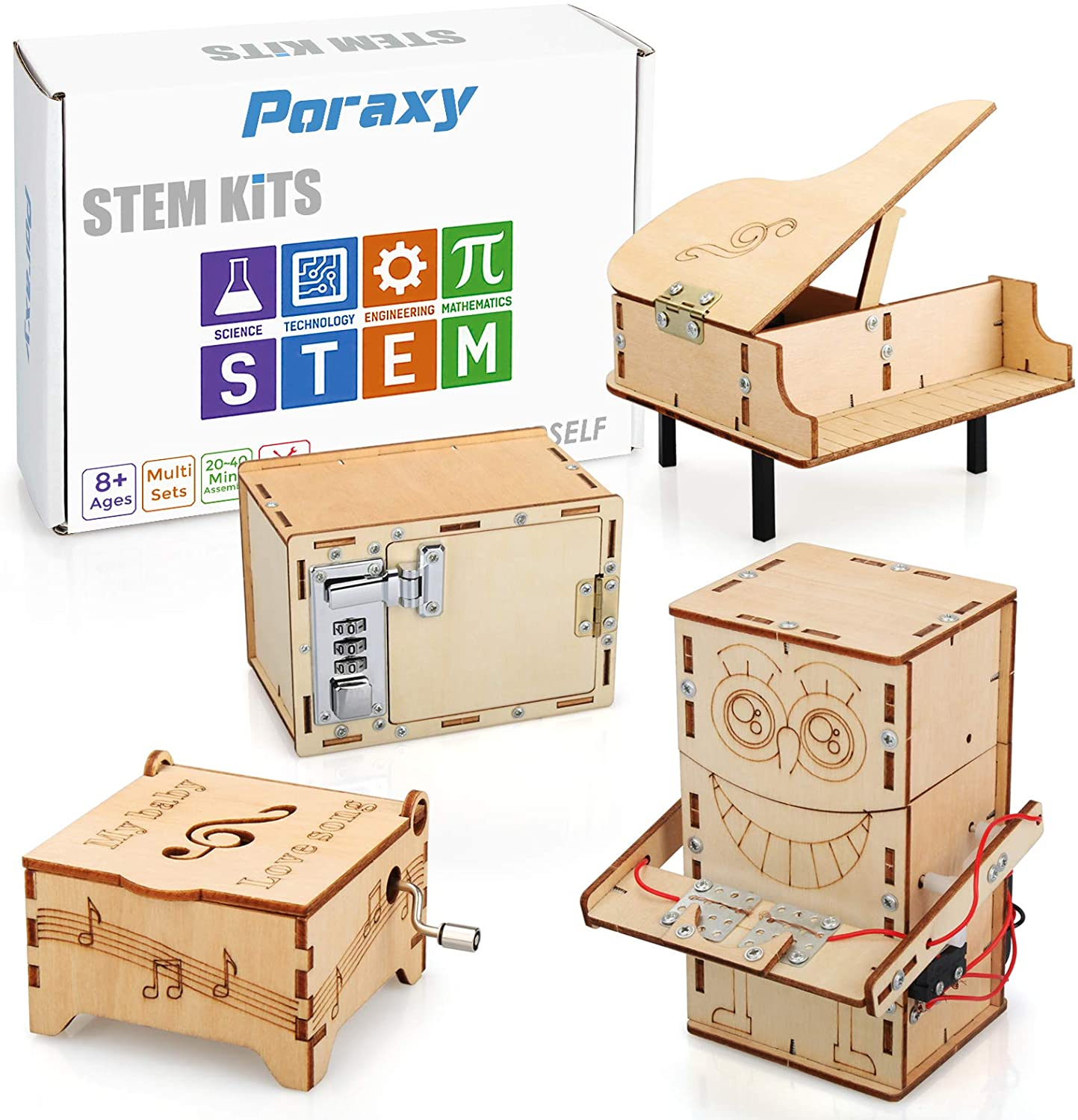 Password Box Kids Science Experiment School Projects DIY Kits Funny Toy NIGH