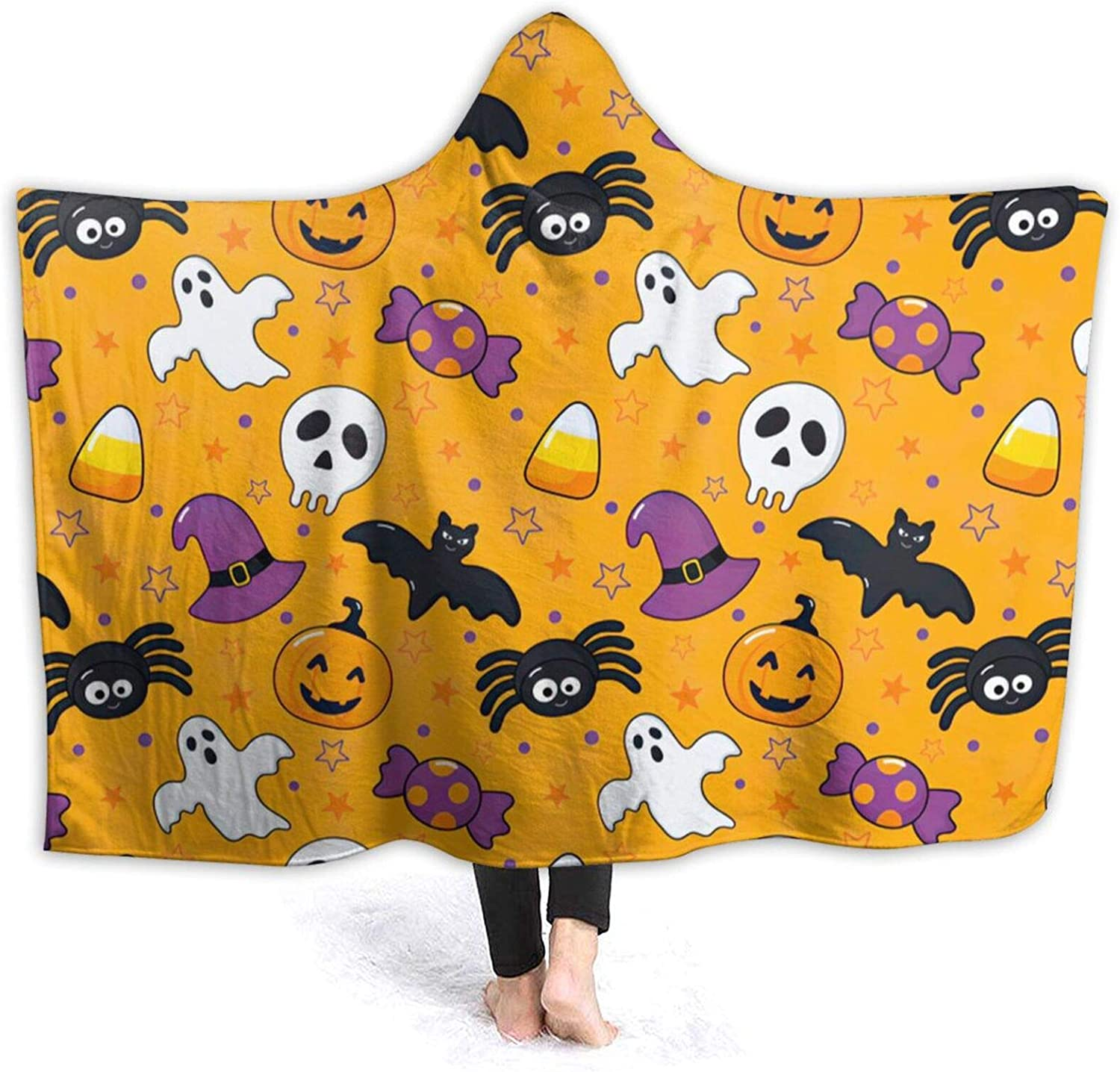 In a popularity Halloween Engage Icon Hooded Th Blanket Max 78% OFF Conditioning Air