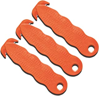 Sicherheitsmesser Kartonmesser Messer Zum Öffnen Von Kartons/Kartonöffner - Sicherheits-Cutter/Folienschneider/Papierschneider - Klever Kutter - orange 3 Stück