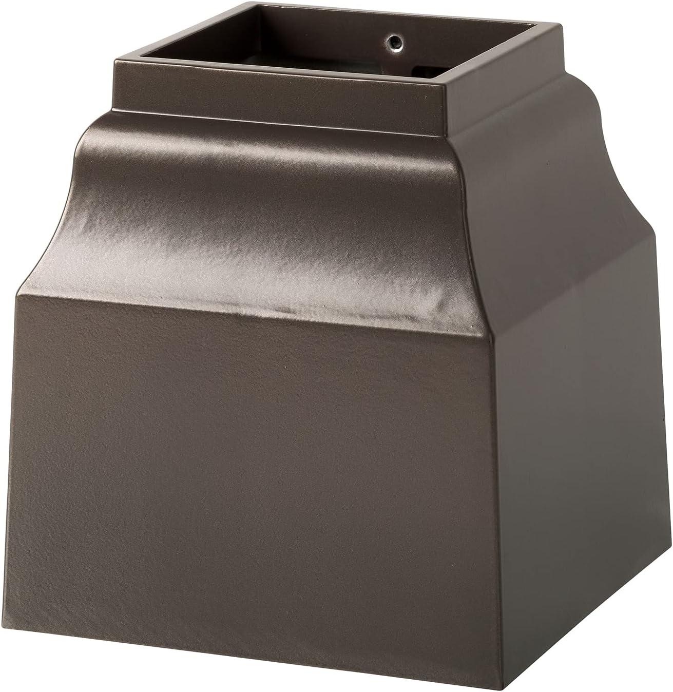 Whitehall 15967 4x4 Base Mailbox Bronze Department store Cascade Max 69% OFF Cuff